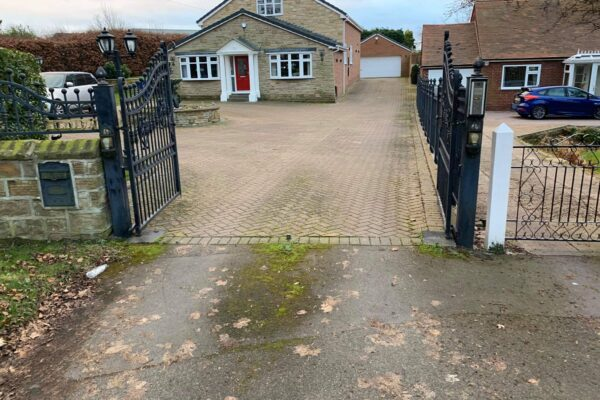 Before a Resin Bound Driveway