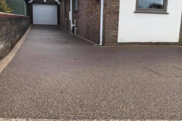 Modern Resin Bond Driveway