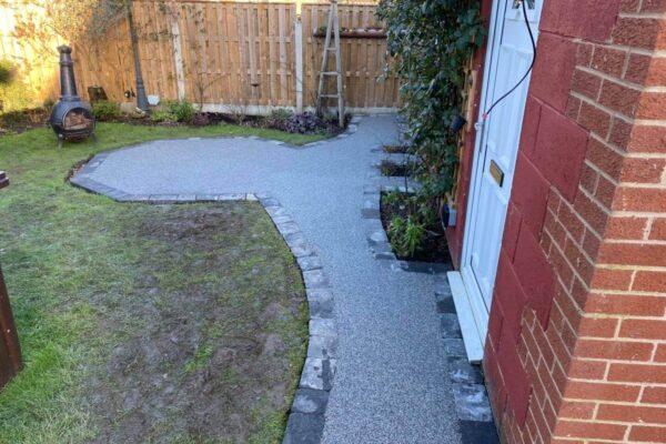 Resin Bound Garden
